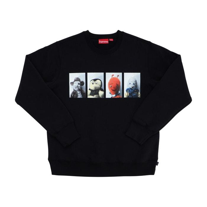 SUPREME MIKE KELLEY AHHYOUTH! CREWNECK BLACK