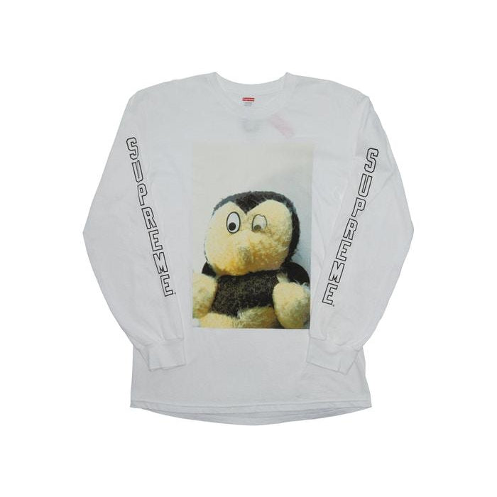 FW18 SUPREME MIKE KELLEY AHHYOUTH! L/S TEE WHITE