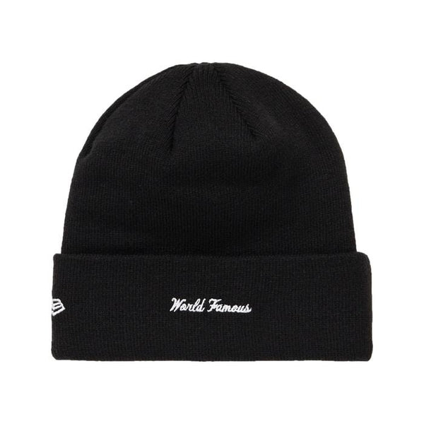 FW18 SUPREME NEW ERA BOX LOGO BEANIE BLACK