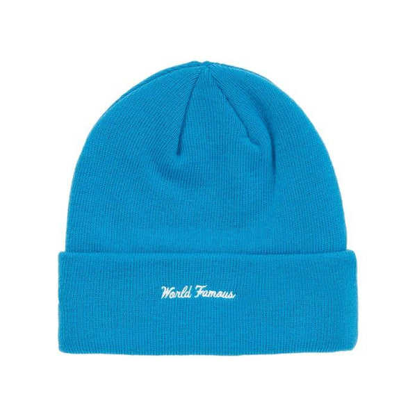 FW18 SUPREME NEW ERA BOX LOGO BEANIE BRIGHT ROYAL