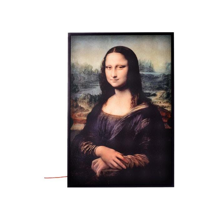 "VIRGIL ABLOH X IKEA MARKERAD ""MONA LISA"" BACKLIT ARTWORK MULTICOLOR"