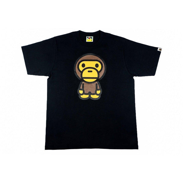 A BATHING APE BIG BABY MILO TEE BLACK-T-Shirts-A Bathing Ape-M-HYPESTEIN