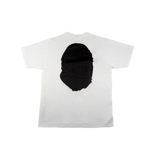 A BATHING APE COLORS BIG APE HEAD TEE WHITE-T-Shirts-A Bathing Ape-M (PRE-OWNED)-HYPESTEIN