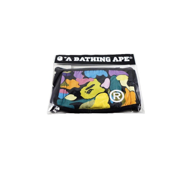A BATHING APE MULTI CAMO MASK BLACK-Accessories-A Bathing Ape-OS-HYPESTEIN