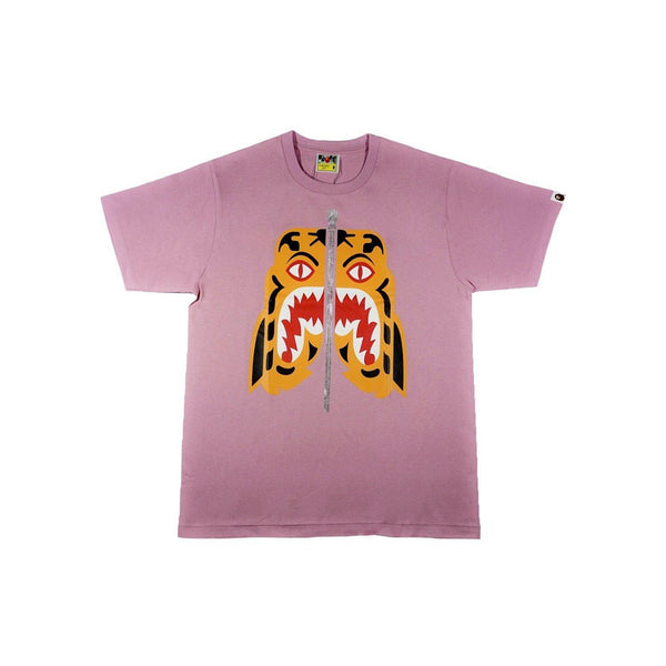 A BATHING APE TIGER TEE PINK-T-Shirts-A Bathing Ape-M-HYPESTEIN