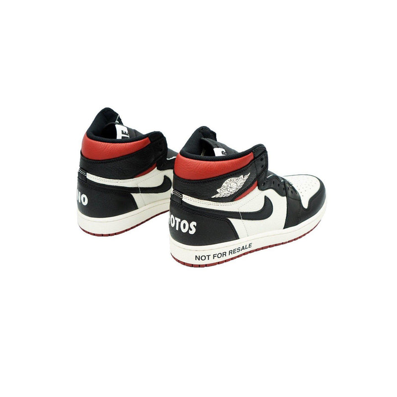 "AIR JORDAN 1 RETRO HIGH ""NOT FOR RESALE"" VARSITY RED-Sneakers-Nike-US 8.5 / EU 42-HYPESTEIN"