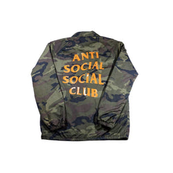 ANTI SOCIAL SOCIAL CLUB CAMO COACH JACKET-Jackets-Anti Social Social Club-L (PRE-OWNED)-HYPESTEIN