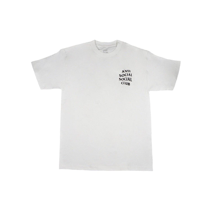 ANTI SOCIAL SOCIAL CLUB LOGO TEE 2 WHITE-T-Shirts-Anti Social Social Club-S-HYPESTEIN