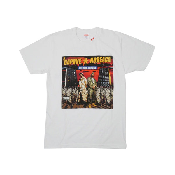 FW16 SUPREME THE WAR REPORT TEE WHITE