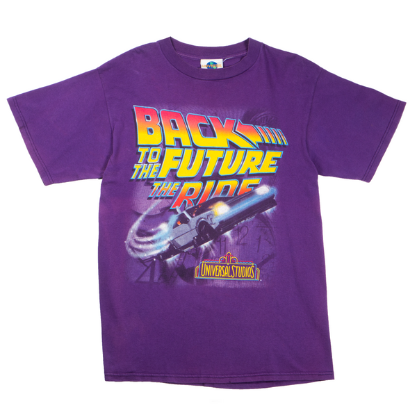1996 VINTAGE UNIVERSAL STUDIOS BACK TO THE FUTURE TEE