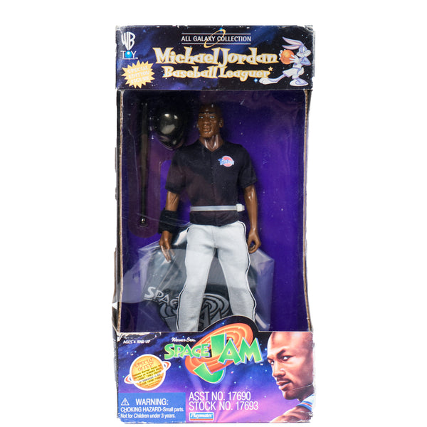 1996 VINTAGE SPACE JAM MICHAEL JORDAN BASEBALL LEAGUE FIGURE