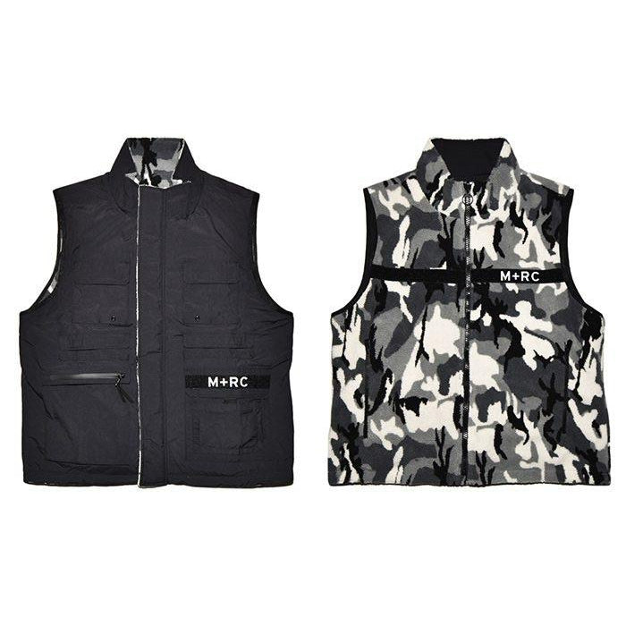 "M+RC NOIR ""TRIBUTE"" REVERSIBLE VEST CAMO"