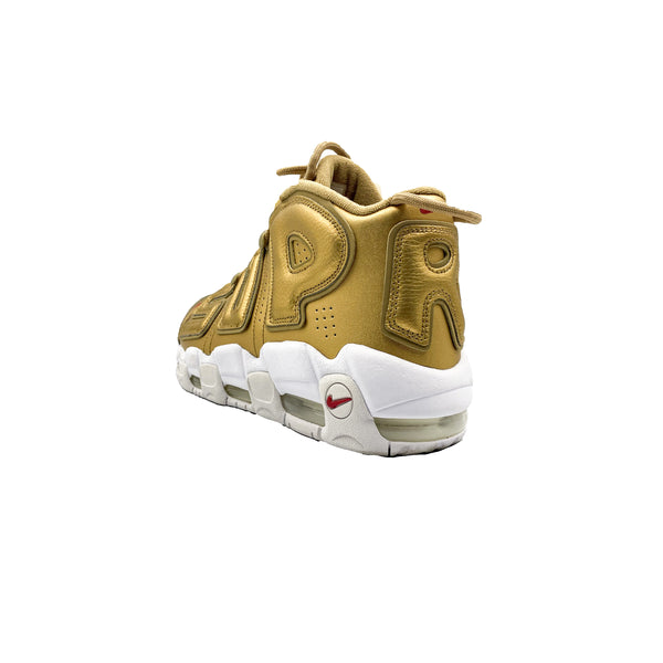 "NIKE AIR MORE UPTEMPO SUPREME ""SUPTEMPO"" GOLD"