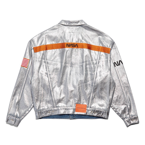 HERON PRESTON NASA DENIM JACKET