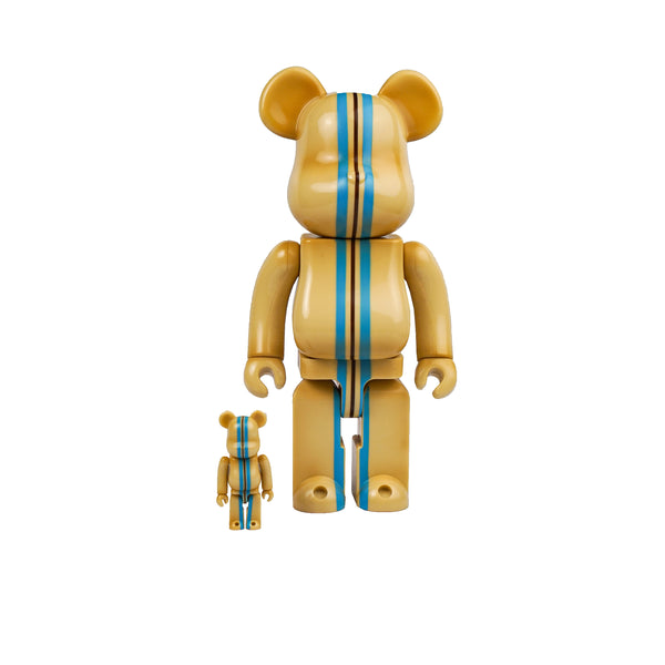 BEARBRICK STANDARD CALIFORNIA 100% & 400% SET BEIGE