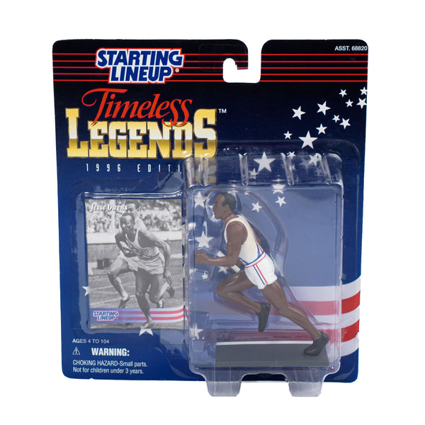 1996 VINTAGE STARTING LINEUP TIMELESS LEGENDS COLLECTION JESSE OWENS FIGURINE