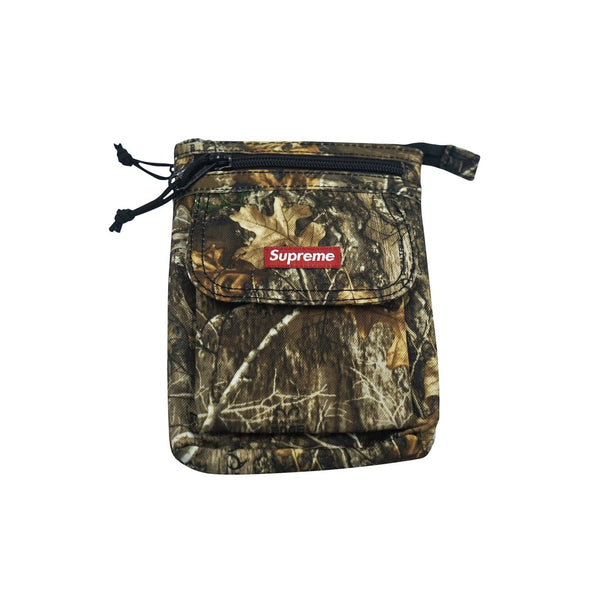 SUPREME SHOULDER BAG FW19 REAL TREE CAMO