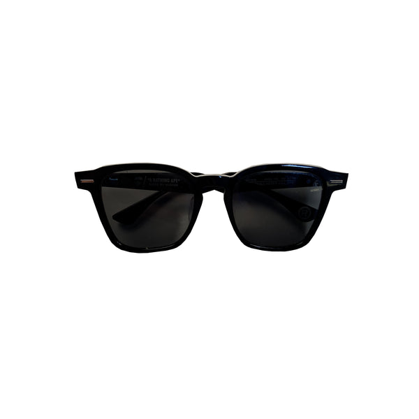 A BATHING APE SUNGLASSES BLACK/GREEN