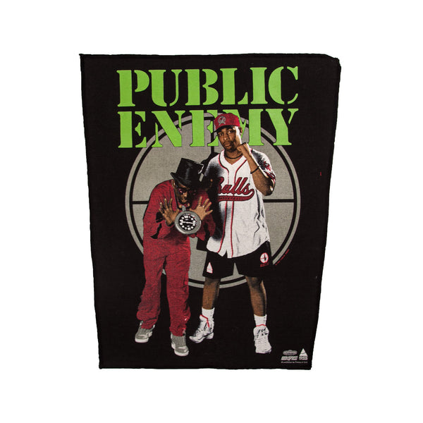 80'S VINTAGE PUBLIC ENEMY BACK PATCH