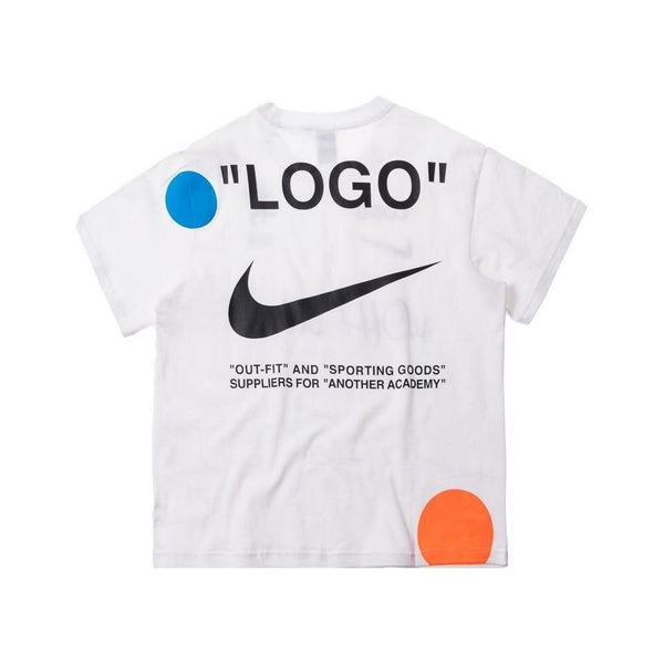 OFF WHITE X NIKE LAB MERCURIAL NRG TEE WHITE