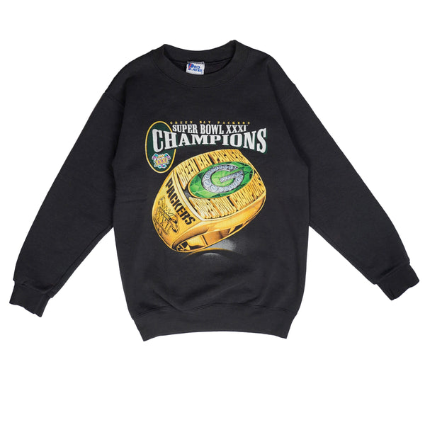 1997 VINTAGE SUPER BOWL CHAMPIONS PACKERS CREWNECK