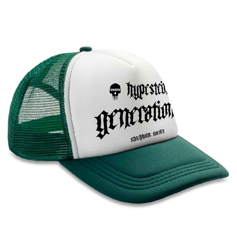 HYPESTEIN GENERATION Z TRUCKER HAT GREEN