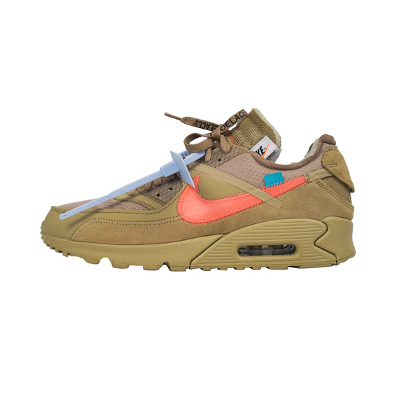 "OFF WHITE X NIKE AIR MAX 90 ""DESERT ORE"""