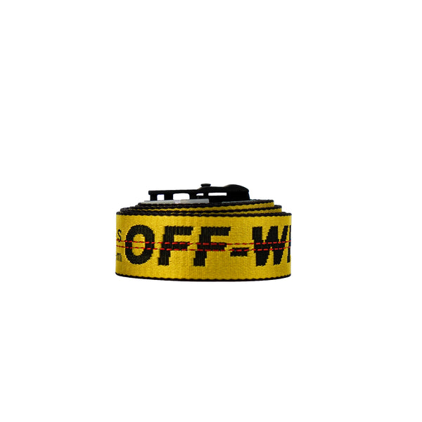 OFF-WHITE INDUSTRIAL YELLOW BELT 200 CM