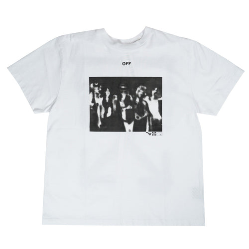 OFF-WHITE GHOST BAND ARROWS TEE WHITE