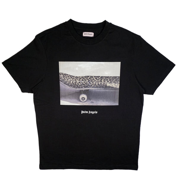 PALM ANGELS TEE BLACK