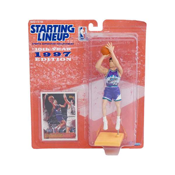 1997 STARTING LINEUP JOHN STOCKTON FIGURINE