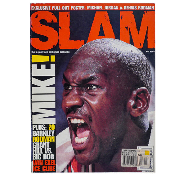1995 VINTAGE SLAM MAGAZINE NO.6
