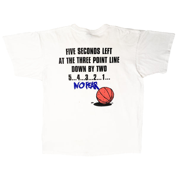 90'S VINTAGE NO FEAR BASKETBALL 5 SECONDS TEE