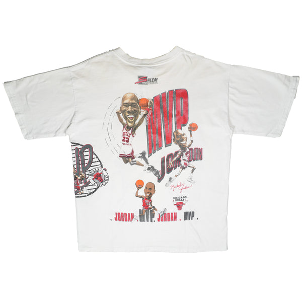 90'S VINTAGE SALEM MICHAEL JORDAN DOUBLE SIDED TEE
