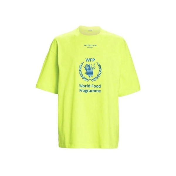 BALENCIAGA WORLD FOOD PROGRAMME T-SHIRT
