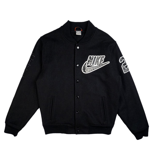 2010 NIKE KOBE BRYANT THE INFAMOUS VARSITY JACKET BLACK
