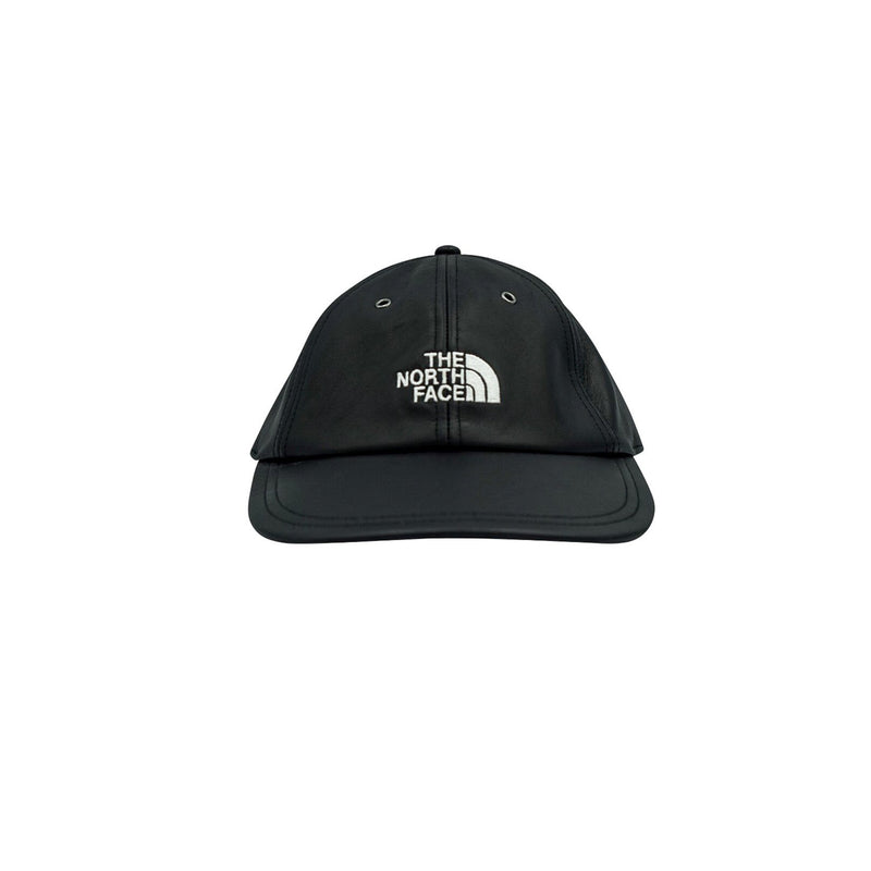 SUPREME X THE NORTH FACE 6-PANEL LEATHER BLACK