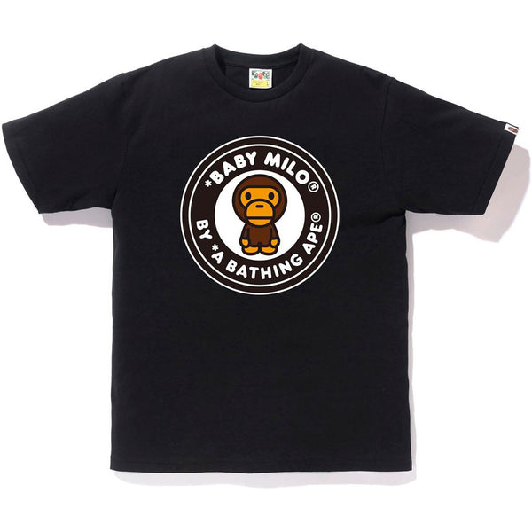 A BATHING APE BUSY WORKS BABY MILO TEE BLACK