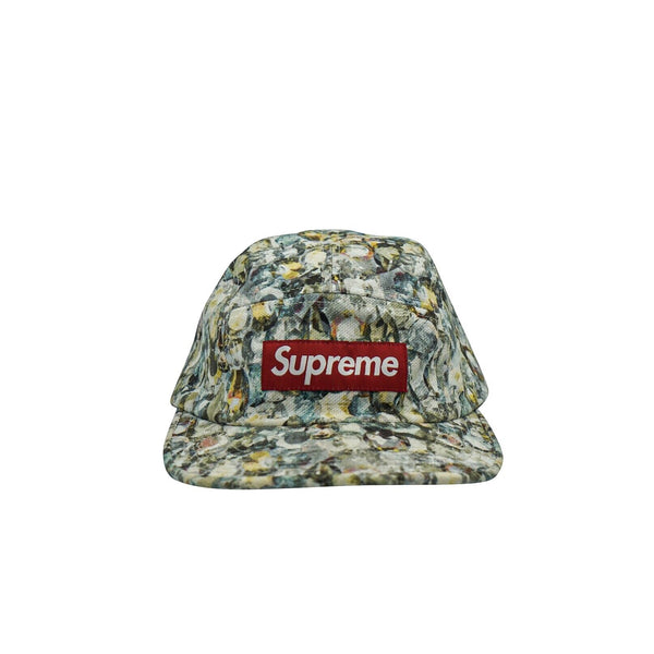 SS 12 SUPREME X LIBERTY 5 PANEL FLORAL CAMP HAT