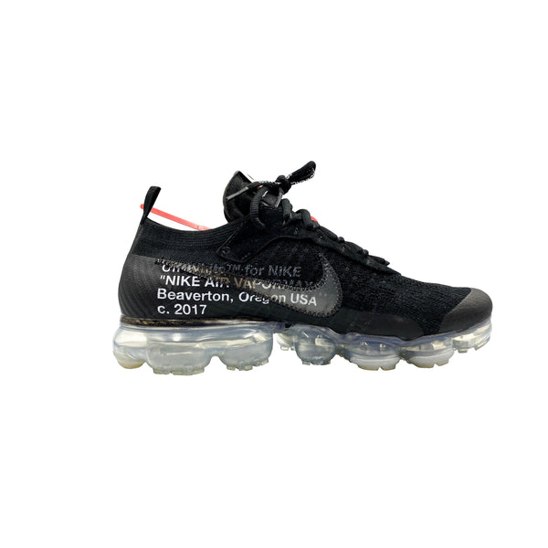 OFF-WHITE X NIKE AIR VAPORMAX BLACK