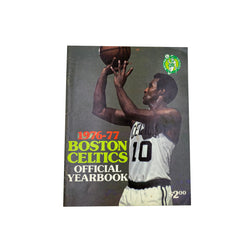 1976-77 VINTAGE BOSTON CELTICS OFFICIAL YEARBOOK