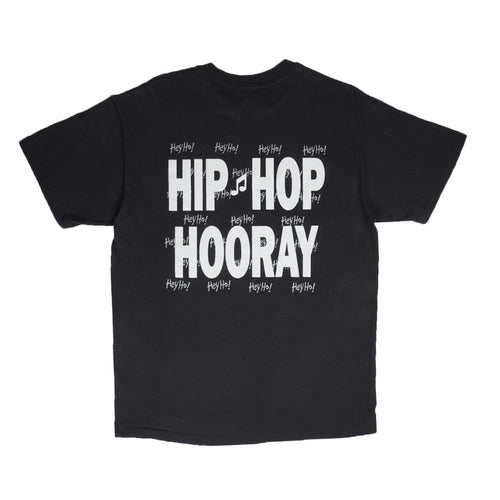 1993 VINTAGE NAUGHTY BY NATURE HIP HOP HOORAY TEE
