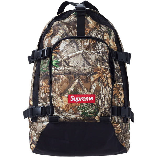 SUPREME BACKPACK FW19 REAL TREE CAMO