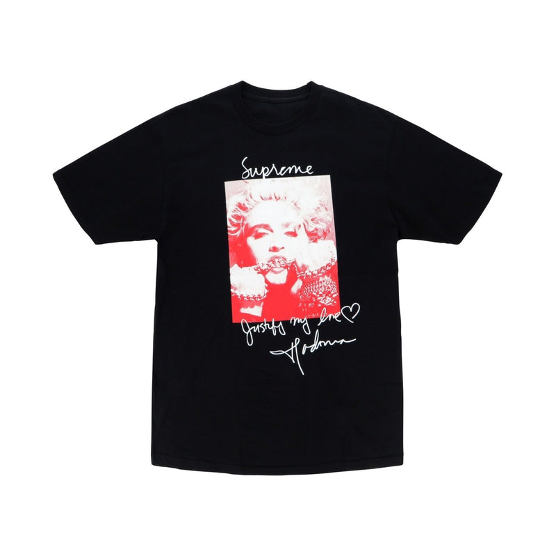 SUPREME MADONNA T-SHIRT BLACK