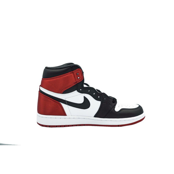 "AIR JORDAN 1 RETRO HIGH ""SATIN BLACK TOE"" W"