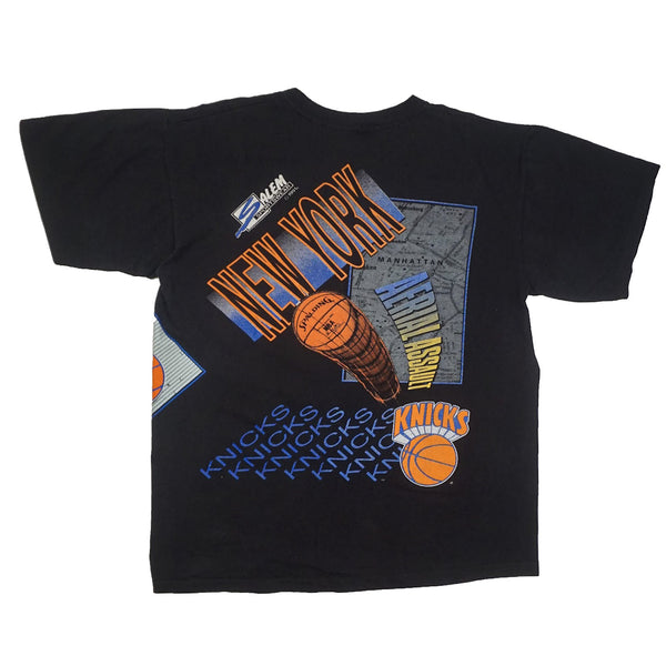 1991 VINTAGE SALEM SPORTSWEAR NBA NEW YORK KNICKS TEE