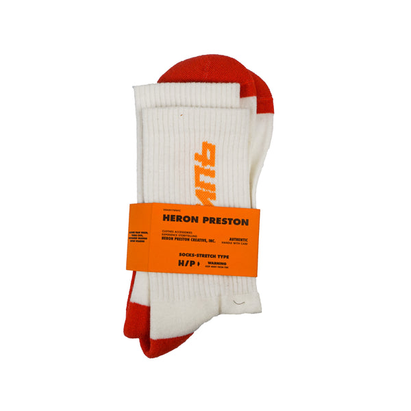 HERON PRESTON STYLE SOCKS RED