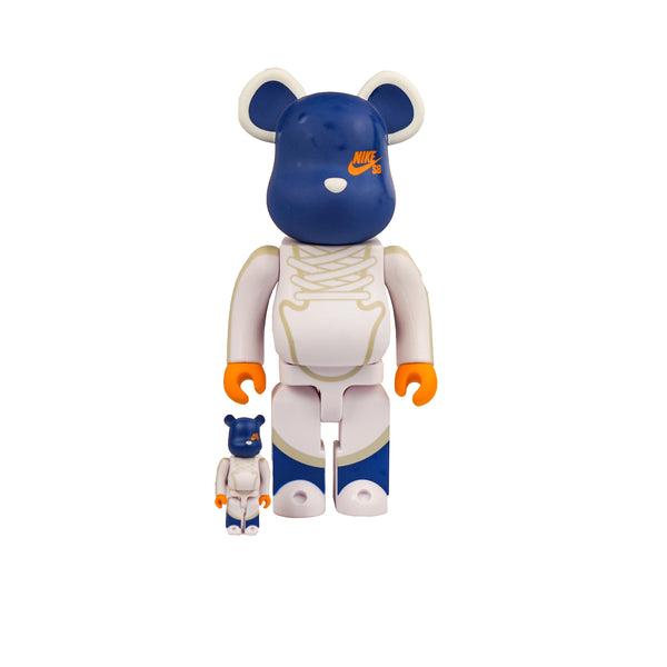 BEARBRICK NIKE SB 100% & 400% SET BLUE