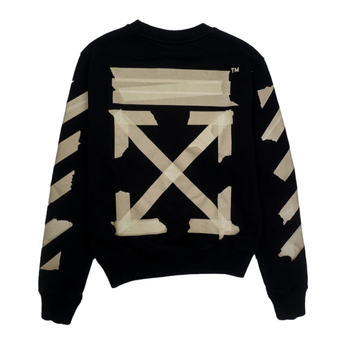 OFF-WHITE TAPE ARROWS OVER SWEATSHIRT