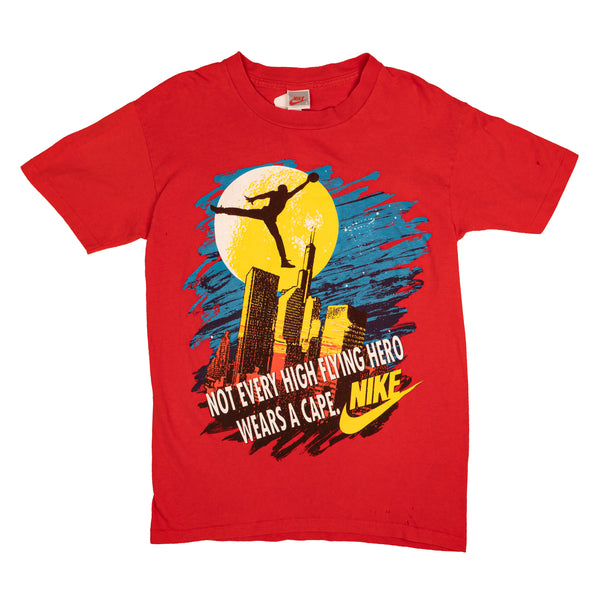 90'S VINTAGE NIKE NOT EVERY HIGH FLYING HERO JORDAN TEE